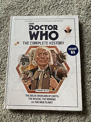 Doctor Who - The Complete History Issue 61  (Stories 10-13)  NEW AND SEALED