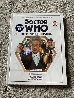 Doctor Who Complete History Issue 78 Volume 83 Sleep No More *NEW & SEALED*