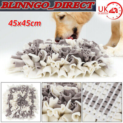Pet Snuffle Mat Washable Dog Cat Food Mat Pressure Relieving Nosework Training