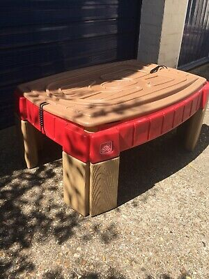 Step2 Naturally Playful Sand Tray Pit With Cover Lid