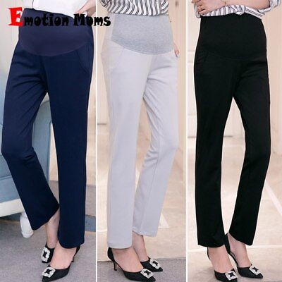 Pregnancy Pants Maternity Trousers Casual Leggings Pregnant High Waist Clothing