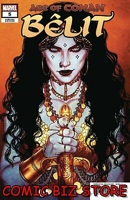 Age Of Conan Belit #5 (Of 5) (2019) 1St Print Scarce 1:25 Frison Variant Cover