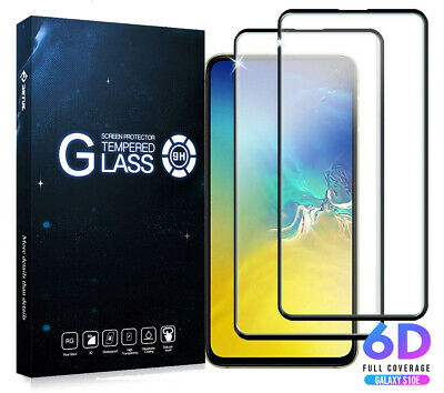 2x 6D Panzerfolie für Samsung Galaxy S10e Schutzglas Full Screen Displayglas