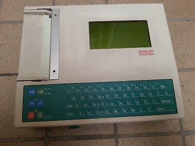 Schiller AG - AT- 6/3 Interpretative ECG + ACCESSORIES. MADE IN SWITZERLAND