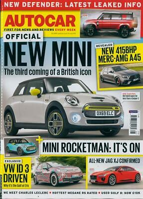 Autocar Magazine 10 July 2019 (New Mini, New Merc Amg A45, New Jaguar Xj) New