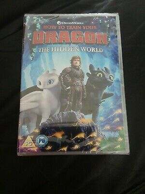 How to Train Your Dragon The Hidden World DVD Brand New Sealed