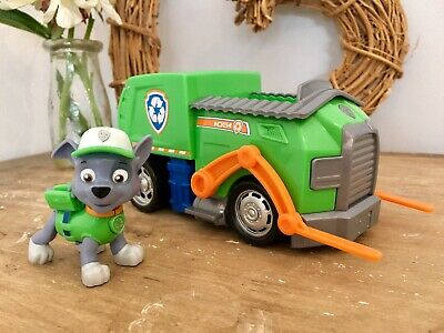 Paw Patrol Rocky's Transforming Recycling Truck with Pop-out Tools and Forklift