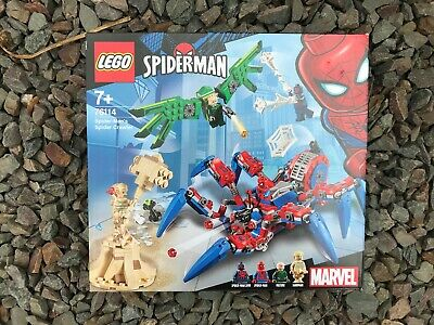 Lego Marvel: Spiderman 76114 Spider-Man's Spider Crawler BNIB (2019)