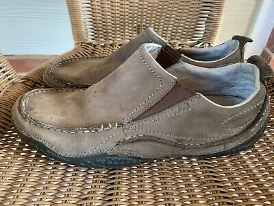 4d1d8b92 Patagonia Mens Size 12 Leather Slip-On Moc Loafer 'Skywalk Cardon' Shoes  Dirty