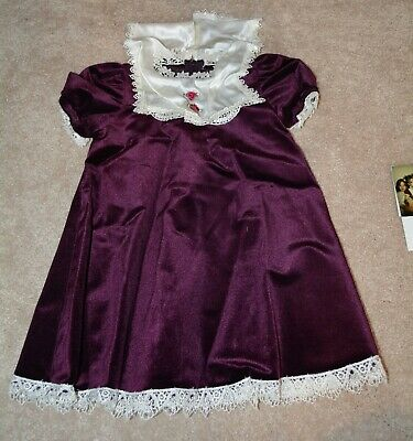 Drew Barrymore Rare Child Actor Worn Dress Coa Mother Award Show!! With Photo!!!