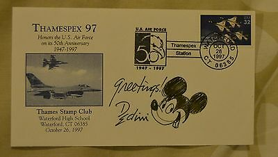 ELDON DEDINI sketch drawing cartoonist playboy disney new yorker Mickey Mouse !