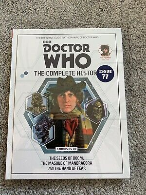 Doctor Who Complete History Issue 77 Volume 25 The Seeds of Doom  *NEW & SEALED*