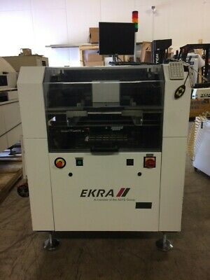 EKRA X4 Solder Paste Screen Printer 2006