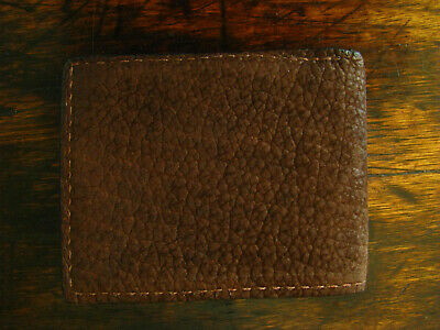 ce548fb43b2b AMERICAN BISON LEATHER, Buffalo Nickel Magnectic Money Clip Wallet ...