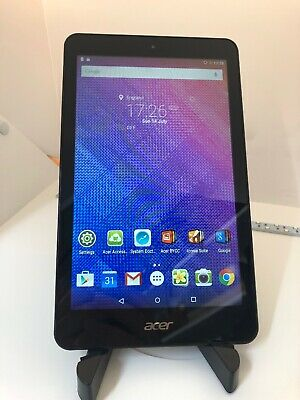 B147 Acer Iconia One 8 B1-830, Wi-Fi, 8in - Black - Great Tablet
