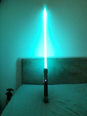 SaberForge Lightsaber, Reliant. Champion edition with sound effects.