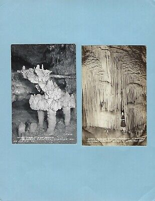 STANTON MO rppc, Group of 6 Views of Meramec Caverns, Route 66.