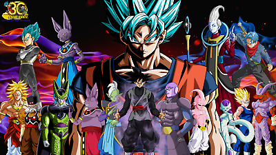 Dragon Ball Super Espanol Latino DVD completa 131 caps + movies