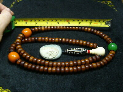 FINELY CARVED   Jade Statue//Necklace - See Video   n18