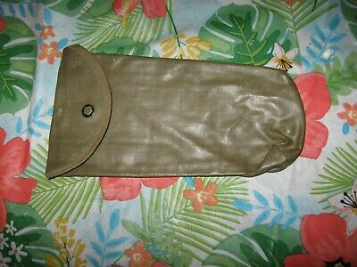 Ww2 Us Military Gi M1 Garand Cleaning Kit Pouch - D39347 - Gripper Snap