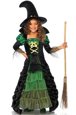 Storybook Witch Potions Kids Outfit Child Costume