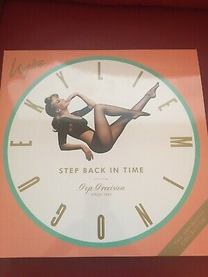 Kylie Minogue Step Back In Time Picture Disc Double Vinyl Album