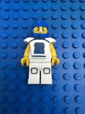 genuine lego minifigures the football player from series 8