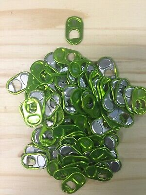 100 Monster Energy Can Tabs Green