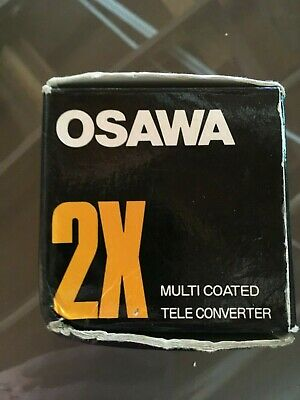 Osawa  2x Tele Converter Lens With Case,and Box