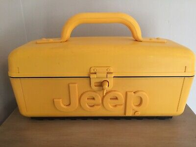 JEEP Water Resistant Battery-operated Portable Radio/Cassette/CD Player