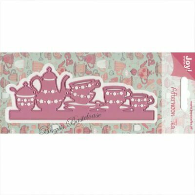 6002//0398 JOY CRAFTS Die Cutting /& Embossing Stencil AFTERNOON TEA
