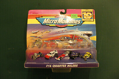 Galoob Micro Machines - Celebrating 10 Years 1996  #16 Quarter Milers NOC
