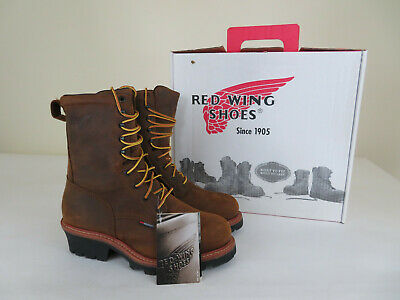 393d39c0292 RED WING STOCK 4417 Steel Toe Loggermax Safety Work Boot Mens Size ...