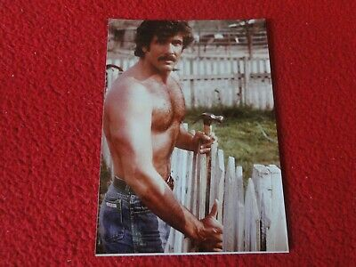 Vintage 18 Year Old + Gay Interest Chippendale Hot Semi Nude Male Photo  A71