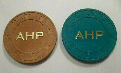Ahp Rare Lot Aladdin Hotel Casino Poker Chip Take A Look Las Vegas Nv