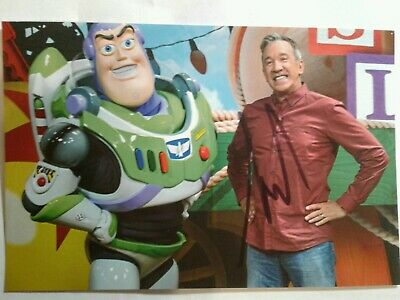 Tim Allen  Hand Signed Autograph 4X6 Photo with BUZZ LIGHTYEAR - TOY STORY