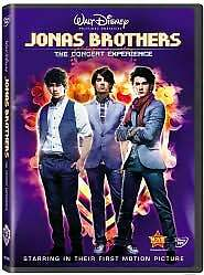 Jonas Brothers - The Concert Experience (DVD, 2009) Disney