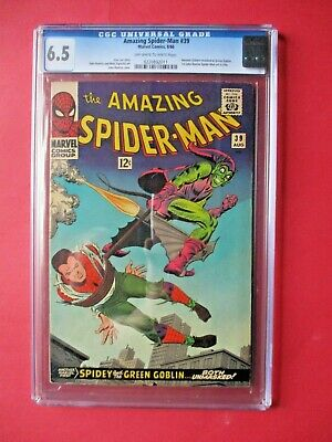 Amazing Spider-Man #39 - CGC 6.5 - Norman Osborn Revealed as Green Goblin