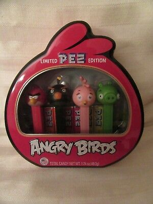 Angry Birds Pez Dispensers in Tin