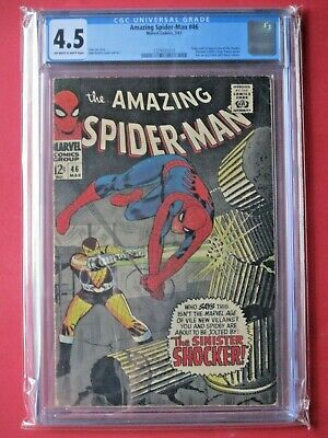 Amazing Spider-Man #46 - CGC 4.5 - FIRST Appearance of Shocker - Hot Issue