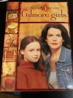 Like New! Gilmore Girls - The Complete First Season (DVD, 2004, 6-Disc Set)