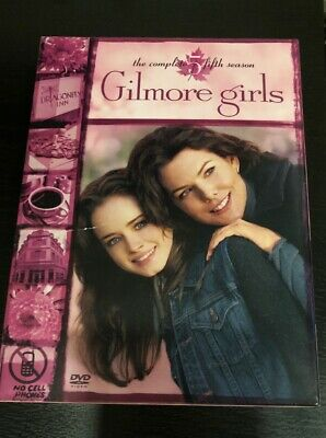 Gilmore Girls: The Complete Fifth Season (DVD, 2005, 6-Disc Set) FAST SHIPPING