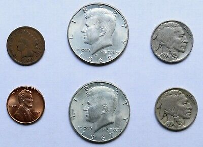 Mixed Old U.S. Coin Lot: Collection of Old U.S. Coins - Includes Silver