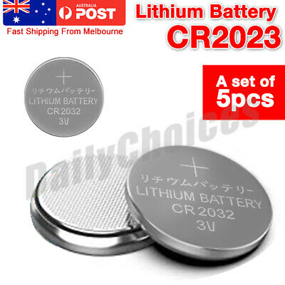 5 CR2032 3V MAXELL COIN BATTERY MADE IN JAPAN Micro Lithium Battery USE BY 2023
