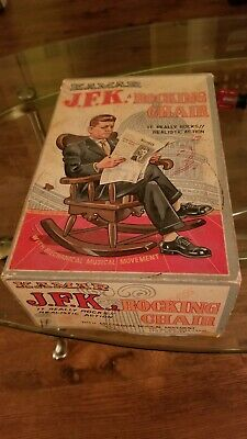 John F. Kennedy Kamar Rocking Chair Doll