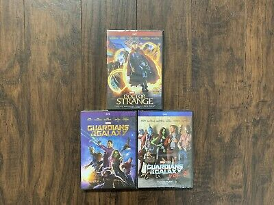 Doctor Strange and Guardians of The Galaxy Marvel DVD Free Shipping Brand New