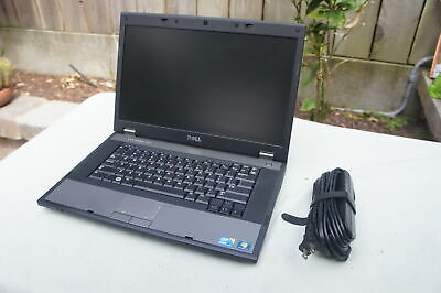 "🍀 Dell Latitude 15.6"" E5510 Core i5-540M 2.53Ghz 4GB 320GB Win10 Pro DVD Webcam"