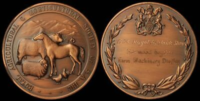 AUSTRALIA South Australia 1984 Royal Agricultural & Horticultural Society Medal