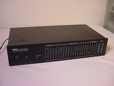 Yamaha Natural Sound Graphic Equalizer Ge-20 10 1 Octave Bands Per Channel Eq