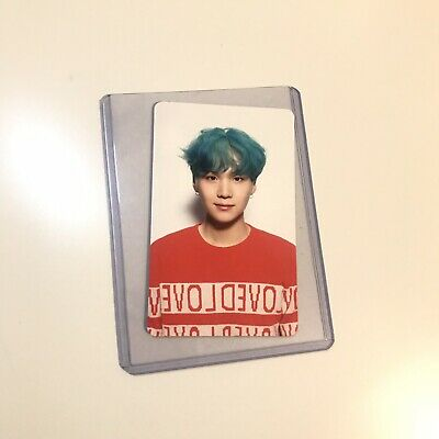 Suga Official Photocard BTS Love Yourself Her V Version Kpop Genuine